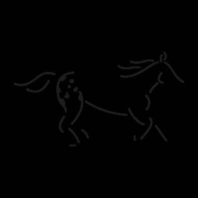 Walkaloosa Horse Ranch vector logo