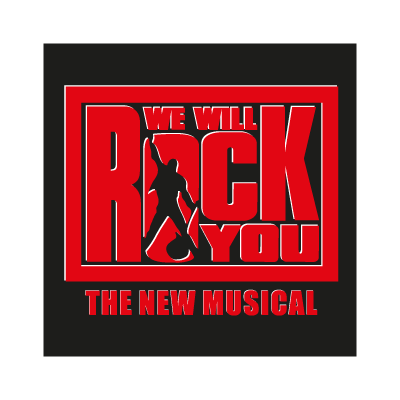 We will rock you logo vector
