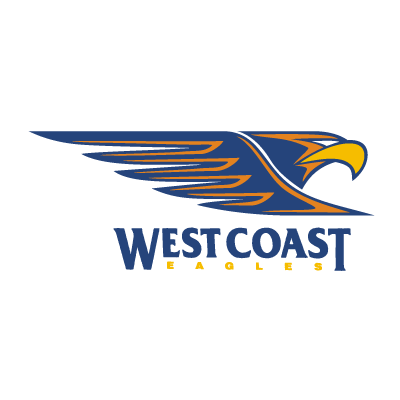 West Coast Eagles logo vector