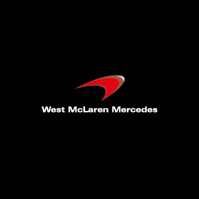 West McLaren Mercedes logo vector