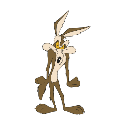 Willy il Coyote logo vector