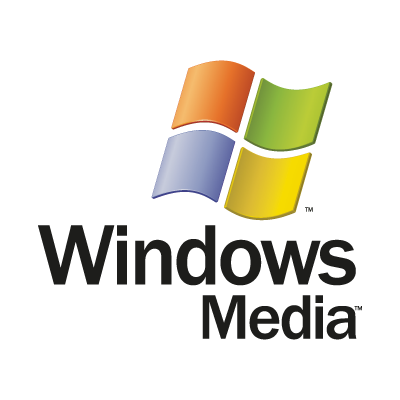 Windows Media logo vector