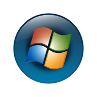 Windows vista (OS) vector logo