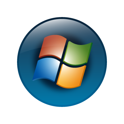 Windows vista (OS) logo vector