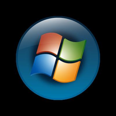 Windows vista (OS) vector logo