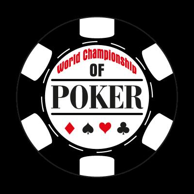 World Championship of Poker vector logo
