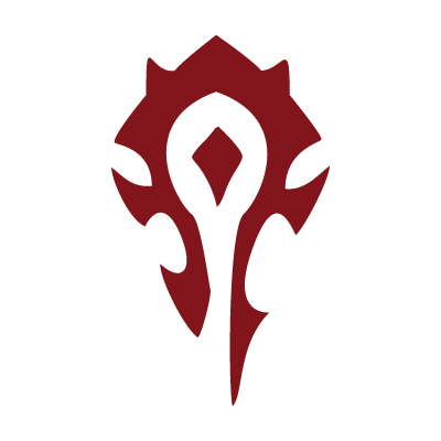 World of Warcraft Horde vector logo