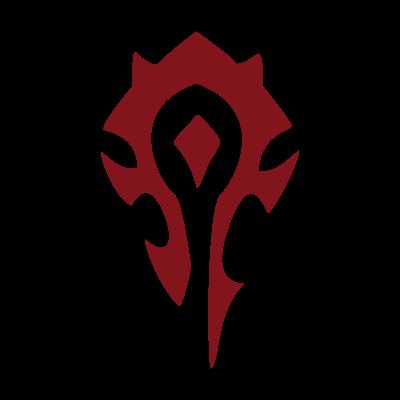 World of Warcraft Horde logo vector