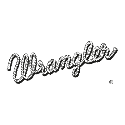 Wrangler Old logo vector