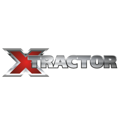 X tractor logo vector
