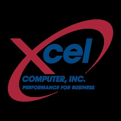 Xcel Computer logo vector