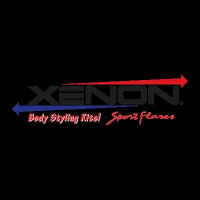 Xenon logo vector