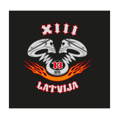 XIII logo vector