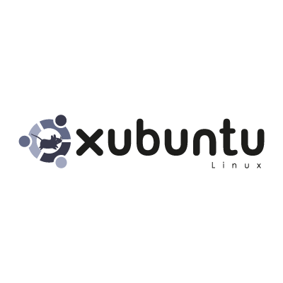 Xubuntu linux logo vector