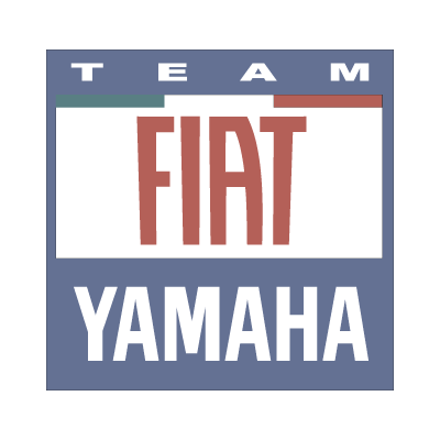 Yamaha Fiat team 2007 logo vector
