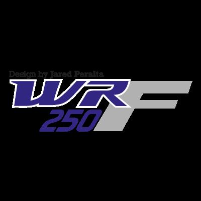 Yamaha WR250F logo vector