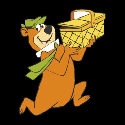 Yogi Bear logo vector