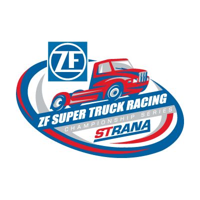 ZF Super Truck Racing logo vector