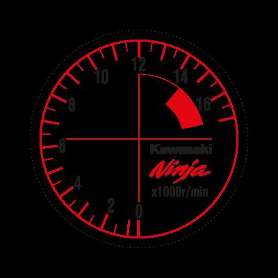 Zx-6r Ninja logo vector