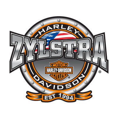 Zylstra Harley-Davidson logo vector