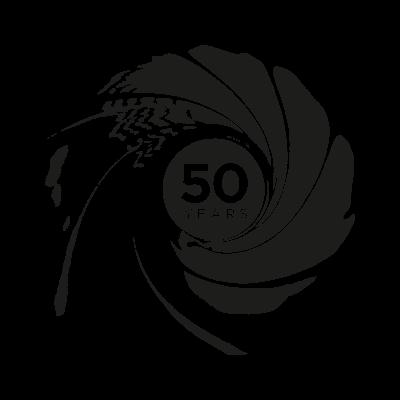 007 50th Anniversary vector logo - 007 50th Anniversary ...