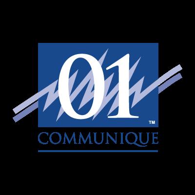 01 Communique logo vector