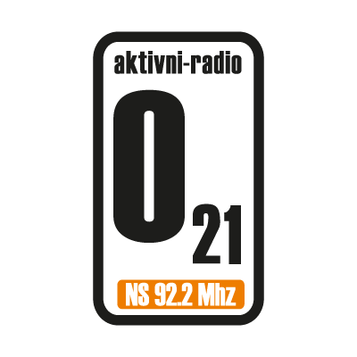 021 Radio logo vector