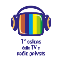 1 salone delle TV e radio private vector logo