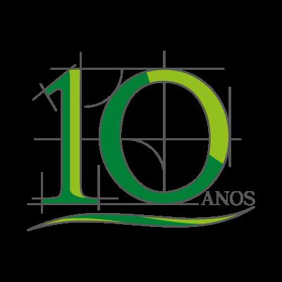 10 Anos logo vector