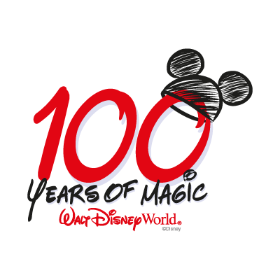 100 Years of Magic vector logo