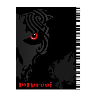 101 Proof logo vector
