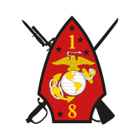 1st Battalion 8th Marine Regiment vector logo