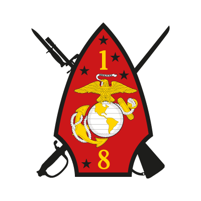 1st Battalion 8th Marine Regiment logo vector