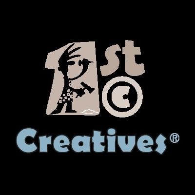1st Creatives logo vector