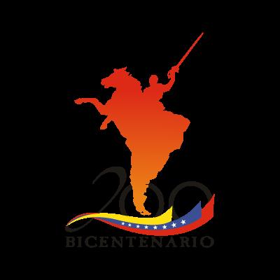 200 Bicentenario Venezuela logo vector