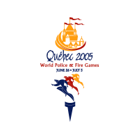 2005 World Police and Fire Games vector logo