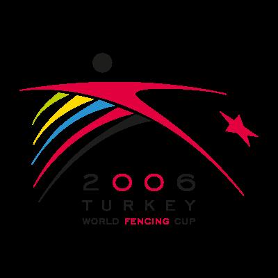 2006 turkey world fencing cup vector logo