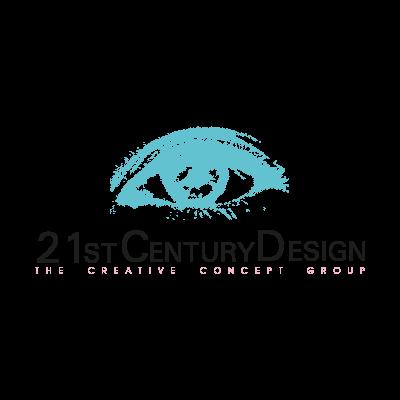 21st Century Design logo vector