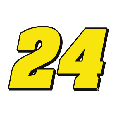 24 Hendrick Motorsports logo vector