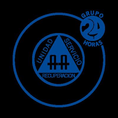 24 Horas vector logo
