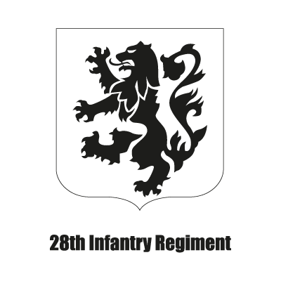 28th Infantry Regiment vector logo