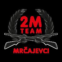 2M racing team vector logo