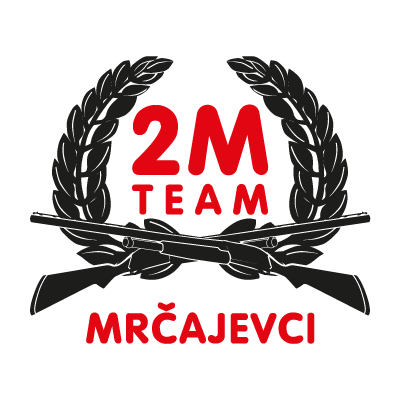 2M racing team logo vector