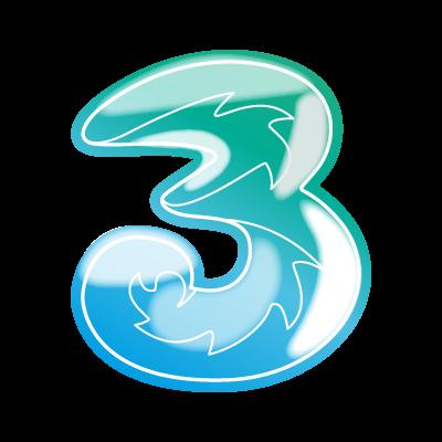 3 Tre vector logo