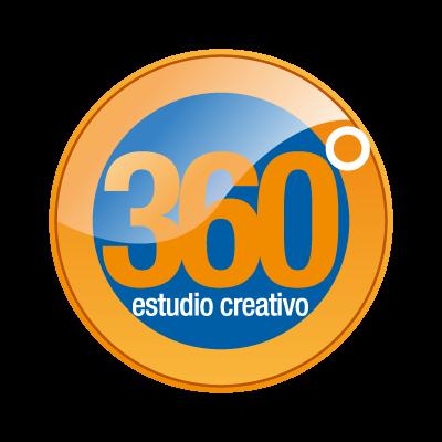 360 GRADOS logo vector