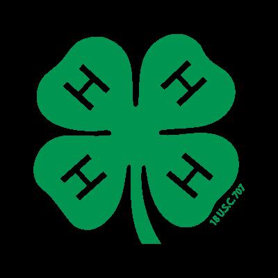 4-H logo vector
