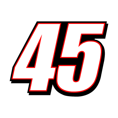 45 Kyle Petty Racing logo vector