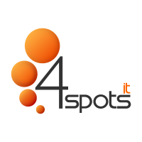 4SPOTS IT vector logo