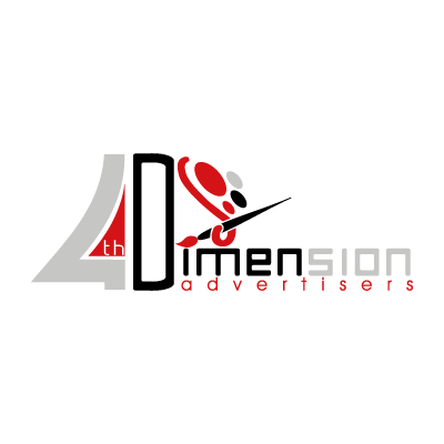 4th Dimension Advertisers logo vector