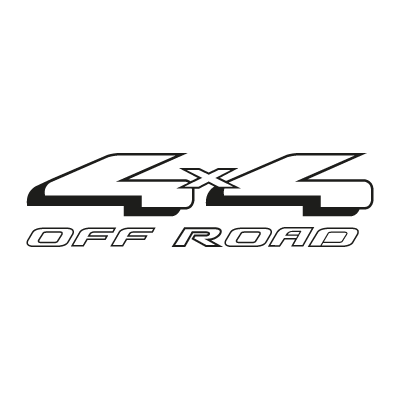 4×4 Off Road vector logo